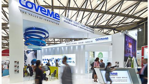 Great Success for Coveme at SNEC 2014