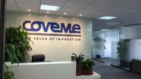 New representative offices in China for Coveme