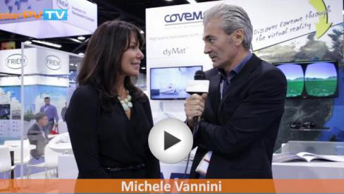 Solar PV-TV interviews Coveme