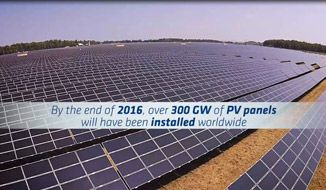 The end of life disposal of PV modules