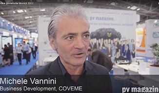 PV Magazine interview @ Intersolar Munich